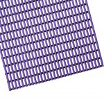 PVC Tube Mat Purple